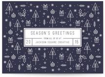 Season's Greeting Icons