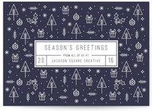 Season's Greeting Icons
