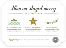 How We Stayed Merry - Year in Review