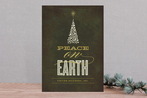 Evening Bright Business Holiday Cards
