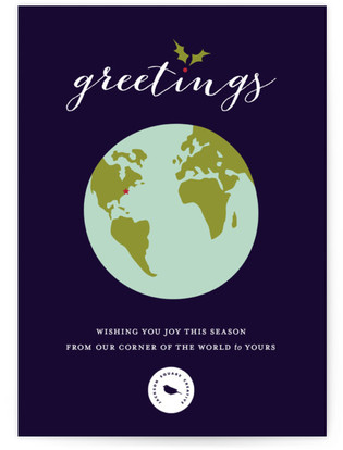 One World Business Holiday Cards