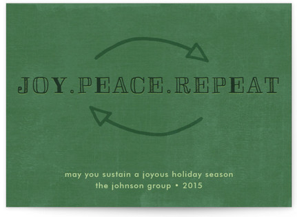 Sustainable Season Business Holiday Cards