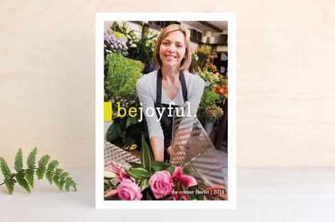 Be Joyful Business Holiday Cards