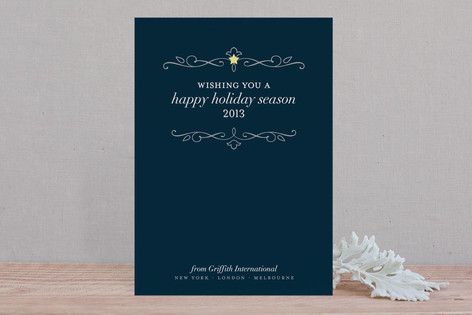 Sweet Star Business Holiday Cards
