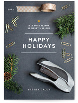 Holiday Desk by Kristen Smith