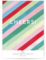 Cheers Diagonal Stripes by melanie mikecz