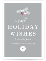 Happy Holiday Wishes by Kimberly FitzSimons