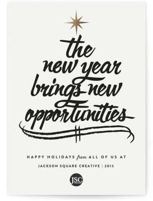 Opportunities Business Holiday Cards