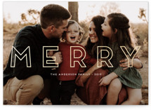 Stay Merry by Little Print Design