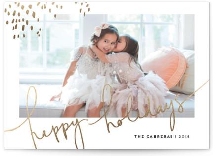 Let Love Shine Foil-Pressed Holiday Cards