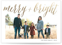 Watercolor Merry and Bright