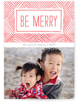 Merry Ikat by Paper Dahlia