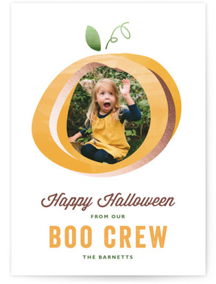 Boo Crew Halloween Cards
