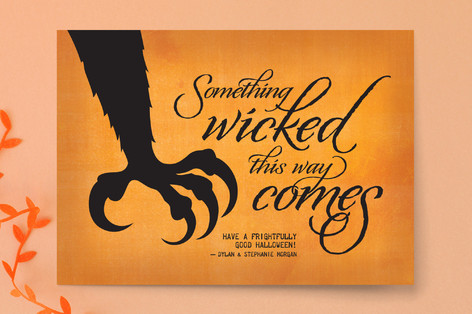 Wicked Scary Halloween Cards