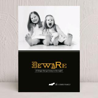 Beware Halloween Cards