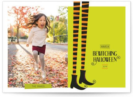 Bewitched Halloween Cards