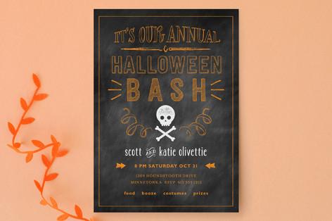 Annual Bash Halloween Cards