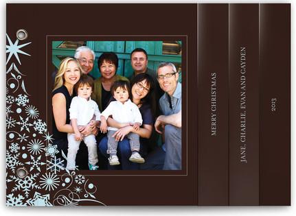 Snowflake Tree Holiday Minibooks