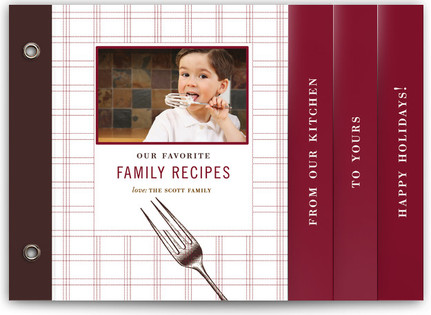 Gathering Recipe Holiday Minibooks