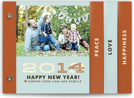 Hip New Year Holiday Minibooks