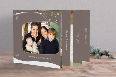 Seasons Of Our Year Holiday Minibook™ Cards