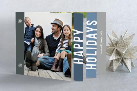 Holiday Block Holiday Minibook™ Cards