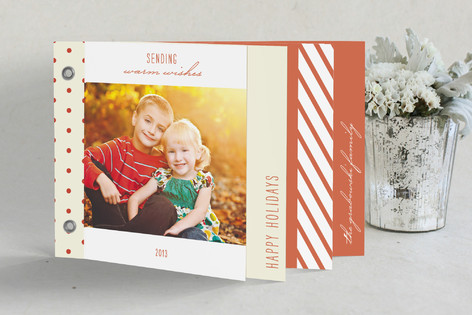 Winter Solstice Holiday Minibook™ Cards