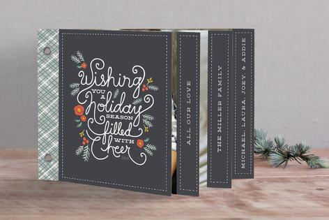 Winter Foliage Cheer Holiday Minibook™ Cards