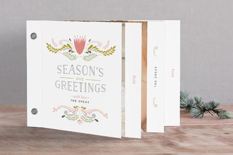 Bespoke Embellished Greetings Holiday Minibook™ Cards
