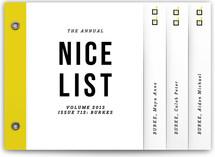 annual nice list