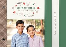 Poinsettias & Pine Cones Holiday Minibooks