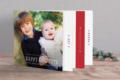 Celebratory Star Holiday Minibook™ Cards
