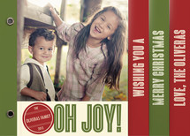 Retro Peace Holiday Minibooks