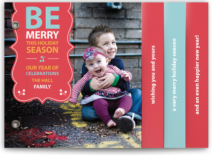 Be Merry Banner Holiday Minibooks