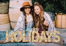 Bold Sparkle Holiday Petite Cards