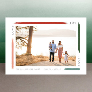 holiday brushed Holiday Petite Cards