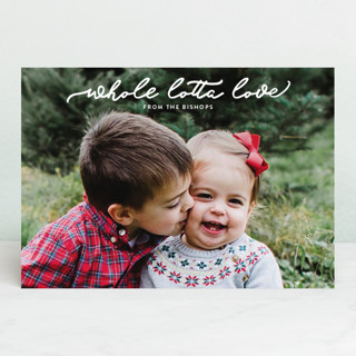 whole lotta love Holiday Petite Cards
