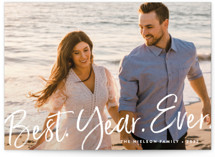 Best Year Ever Holiday Petite Cards