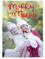 Handlettered Merry Merry