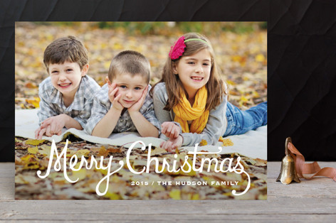 Classic Christmas Holiday Petite Cards