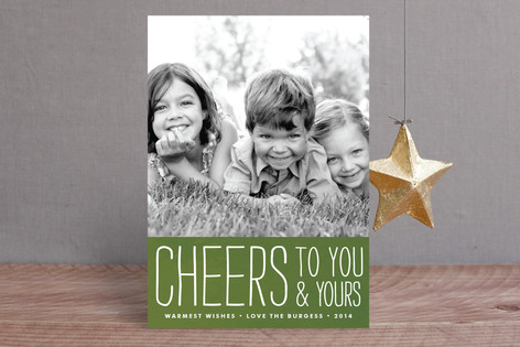 Frosted Cheers Holiday Petite Cards