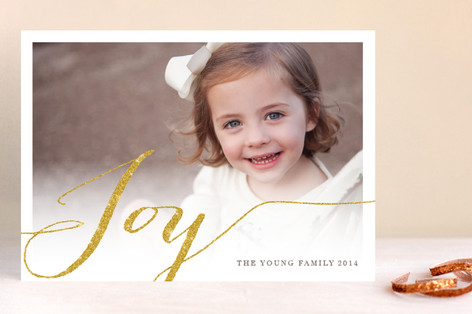 Shimmering Joy Holiday Petite Cards