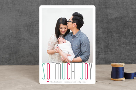 A Whole Lot of Joy Holiday Petite Cards