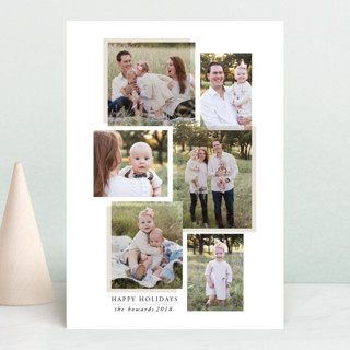 layered effect Holiday Petite Cards