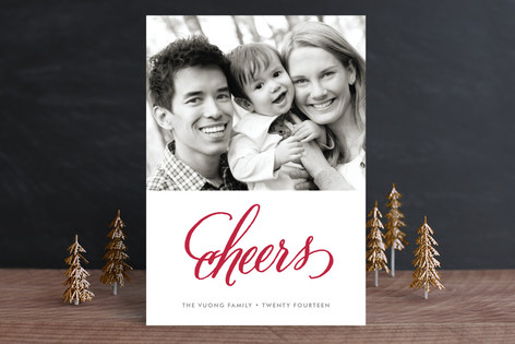 Cheers Holiday Petite Cards