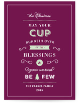 May Your Cup Runneth Over