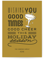 Good Cheer & Happy New Year