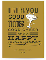 Good Cheer & Happy New Year
