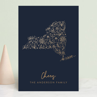 New York Gold Holiday Petite Cards