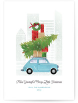 Little Christmas Big City Holiday Petite Cards